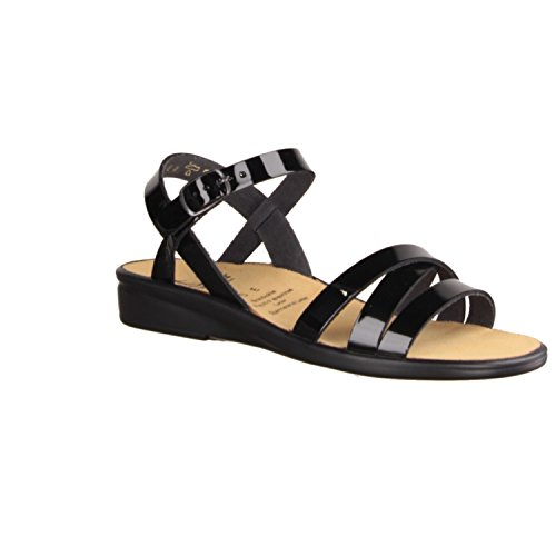 Ganter Women's 20/2814-0100 Fashion Sandals Black BLACK xZQZJF3P