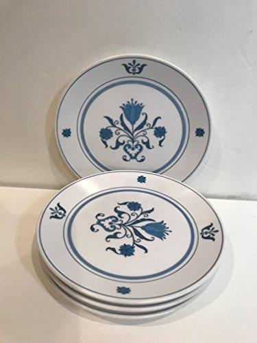 - Noritake Blue Haven #9004 Bread & Butter Plates