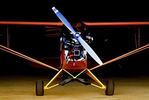 Barnstormer Plane - BARNSTORMER - Photographic Aircraft Print 12 X 18 Inch Aviation Photography