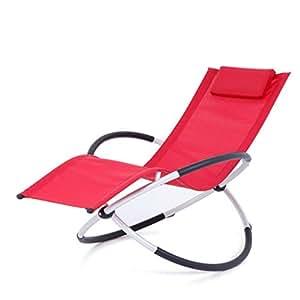 Amazon.com: RUNWEI - Sillón reclinable para balcón o tarde ...
