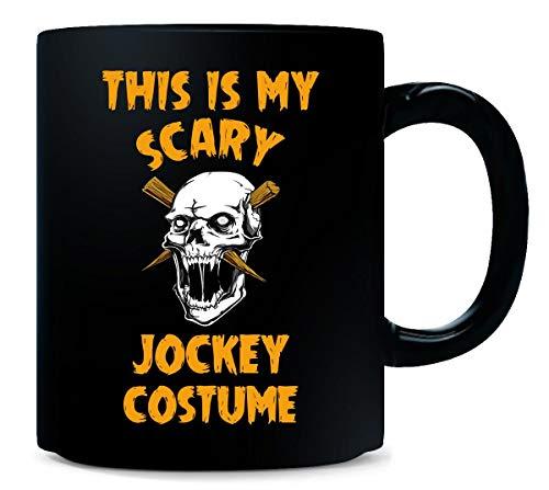 This Is My Scary Jockey Costume Halloween Gift - Mug -