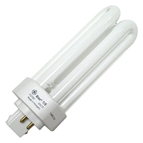 GE 97632 (25-Pack) F32TBX/841/A/ECO 32-Watt Energy Smart Ecolux Triple Tube Compact Fluorescent Light Bulb, 4100K, 2400 Lumens, 82 CRI, T4 Shape, 4-Pin GX23q-3 Base by GE (Image #1)