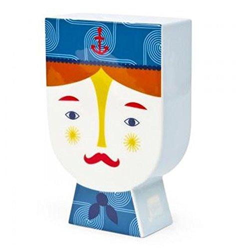 Jonathan Adler Junior Porcelain Decal Colorful Piggy Bank Sailor (Bank Sailor)