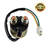 Starter Solenoid Relay Switch for Honda 350 TRX350 Fourtrax Rancher 2000 2001 2002 2003 2004 2005 2006 by Amhousejoy