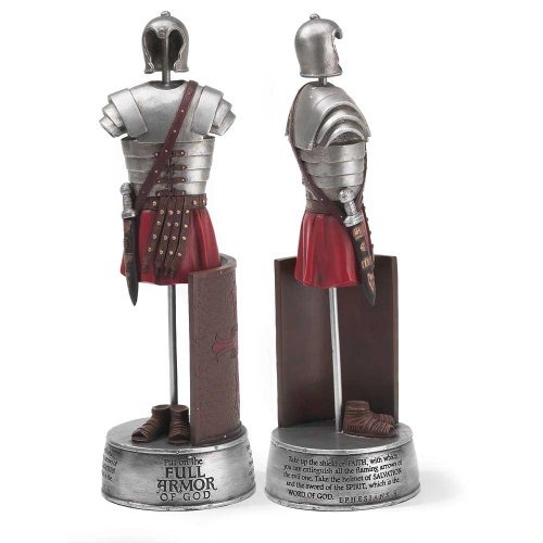 Dicksons 10 inch Full Armor of God Ephesians 6 Soldier Resin Stone Table Top ()