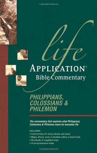 Philippians, Colossians, & Philemon (Life Application for sale  Delivered anywhere in USA