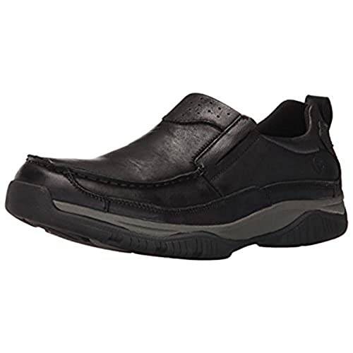 Propet Men's Felix Shoe Black 8.5 X (3E) & Oxy Cleaner Bundle