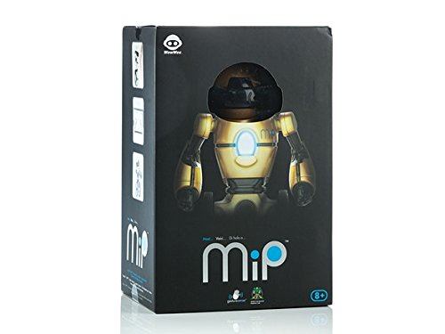 WowWee - MiP the Toy Robot - Metallic Silver