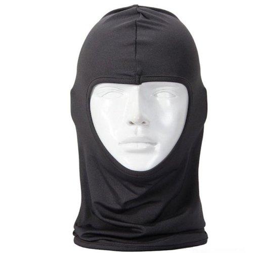 Change New Classic Lycra Ski Face Mask Bike Bicycle Sports Football Balaclava Helmet (Dark Gray)