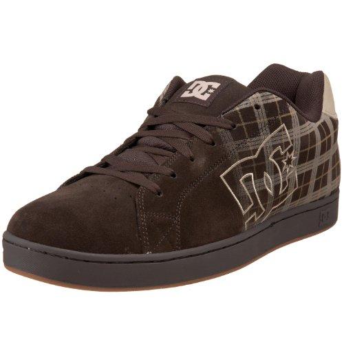 Dc Mens Chaussure De Skate Noir Chocolat / Plaid