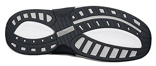 Orthofeet Proven Pain Relief Tacoma Comfortable Plantar Fasciitis Orthopedic Diabetic Flat Feet Bunions Men's Walking Shoes Black by Orthofeet (Image #2)