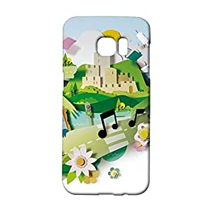 Samsung Galaxy S7 Edge Phone Case Paper Cut Back Cover Case Dreamlike 3D Design for Samsung Galaxy S7 Edge Mobile Shell