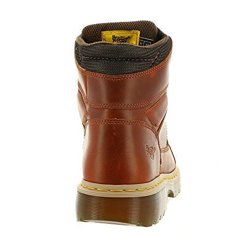 Dr Ironbridge Boot Martens Safety Tan Toe PPZ0qS