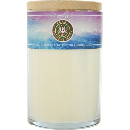 Energy by Energy MASSAGE & INTENTION SOY CANDLE 12 OZ TUM...