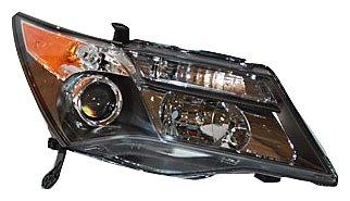 TYC 20-6845-01 Acura MDX Passenger Side Headlight (Acura Mdx Headlight Assembly)