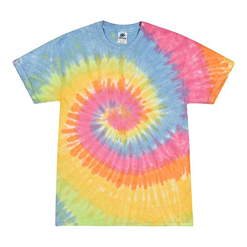 Colortone Tie Dye T-Shirt LG Eternity ()