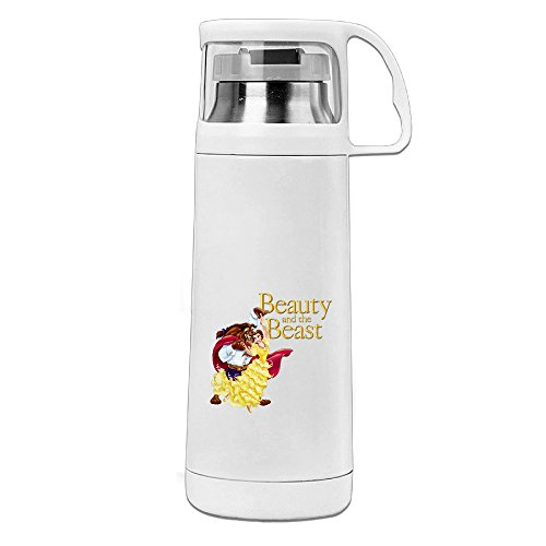 [POY-SAIN Beauty And The Beast Fashion Sport Water Bottle With Handle Vacuum Cup] (Daredevil Costume 2017)