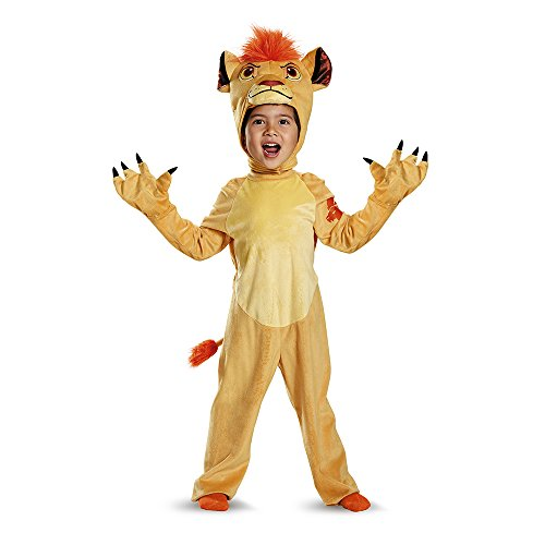 Disney Halloween Costumes For Boys (Kion Deluxe Toddler The Lion Guard Disney Costume, Large/4-6)