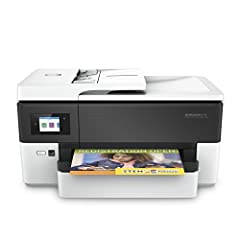 Get it done like a pro with this wireless, all in one, wide format printer. The 4-in-1 large format design allows you to print up to 11x17 inches, and scan or copy any size document you want up to legal size. Save money with professional-qual...