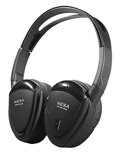 NESA NHP2A Headphone, BLACK