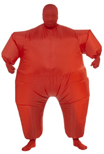 Rubie's Costume Inflatable Full Body Suit Costume, Red, One Size (Inflatable Halloween Costume)