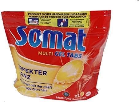 Somat Multi de gel pastillas para lavavajillas Lemon konzentrierte ...