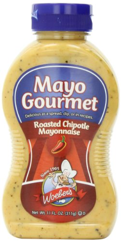 Woebers Mayonnaise, Roasted Chipotle, 11 Ounce