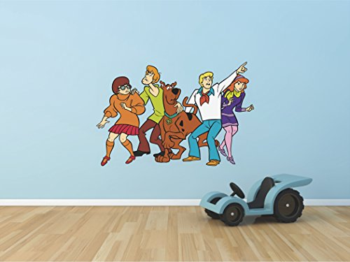Scooby doo Shaggy Velma Fred Daphne 3D Wall Decal Sticker 18