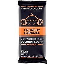 Eating Evolved Crunchy Caramel Primal Chocolate 85% Cacao, 2.5 oz