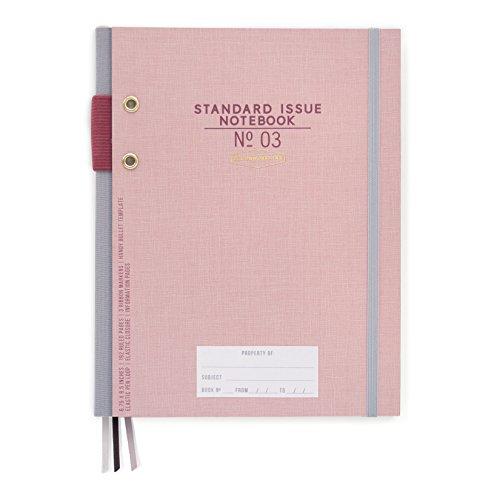 DesignWorks Ink Standard Issue Planner Notebook No. 3, Dusty Pink