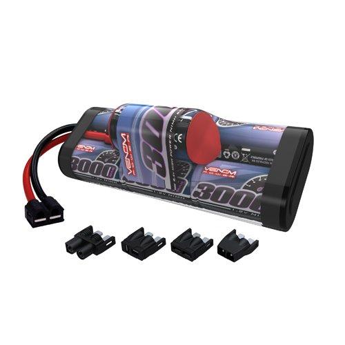 Venom 8.4V 3000mAh 7-Cell Hump Pack NiMH Battery with Universal Plug (EC3 Deans Traxxas Tamiya)