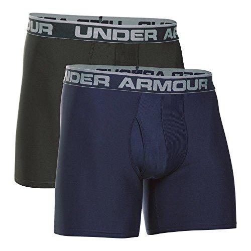 "Under Armour UA Original Series 6"" Boxerjock – 2-Pack LG Midnight Navy"