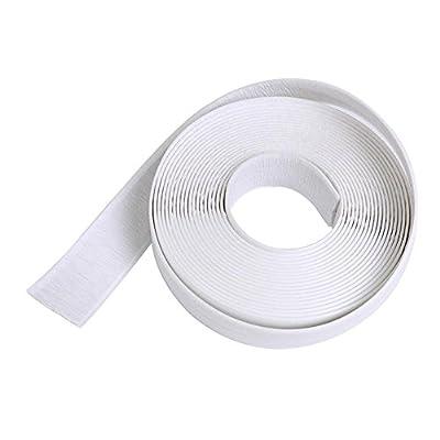 Taloyer Waterproof Sealing Antifung Tape Corner Seam Wall Caulk Strip Moisturizing Protector Collision Avoidance Strip