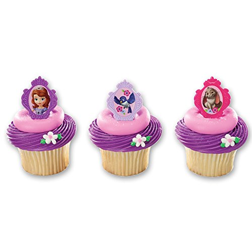 (DecoPac Sofia The First Sofia's Friends Cupcake Rings (12)