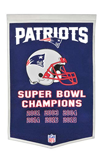 Winning Streak NFL New England Patriots Unisex New England Patriots IF Win SB BannerNew England Patriots IF Win SB Banner, Navy, Banner]()