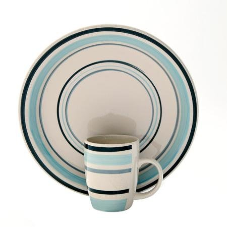 Gibson Home Deluxe Essentials 32-Piece Banded Dinnerware Combo Set  sc 1 st  Amazon.com & Amazon.com: Gibson Home Deluxe Essentials 32-Piece Banded Dinnerware ...