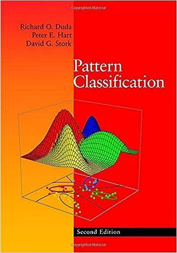Amazon Com Pattern Classification 9780471056690 Duda Richard O Hart Peter E Stork David G Books