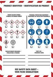 Accessories Ghs (Accuform LZW310 HAZ-COM/GHS HMCIS Labels & Accessories WHMIS WORKPLACE LABELS 10