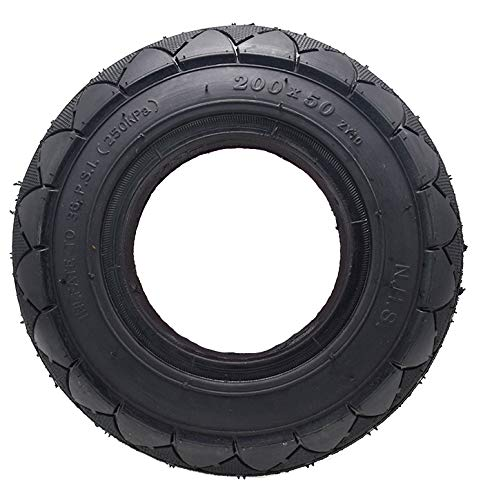 200x50 Tire Solid Tire(Foam Filled Tires) For Razor E100 E150 E175 E200 fits Gas Scooter Electric Scooter 2-wheel Smart Self Balancing Scooter By ()