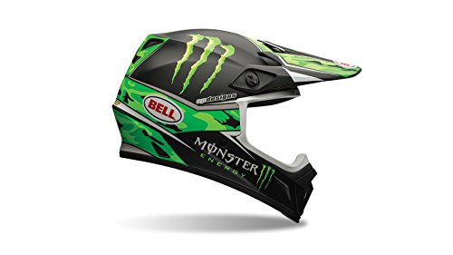 Amazon.es: Bell Helmets MX 2015 MX-9 Casco Adulto, color Tagger Scrub Rosa, talla L