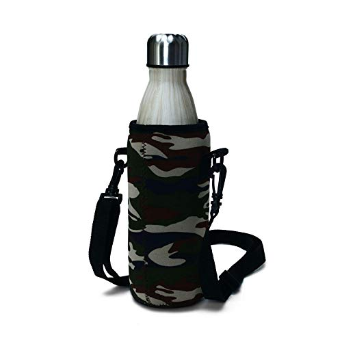 Drinkware & Tea Sets Bottle Bag & Carrier - KC-BG01 Outdoor Portable Water Bottle Protective Cover Fabric Insulation Bag - #01-1 x Cosmetic Bag Details Pictures :