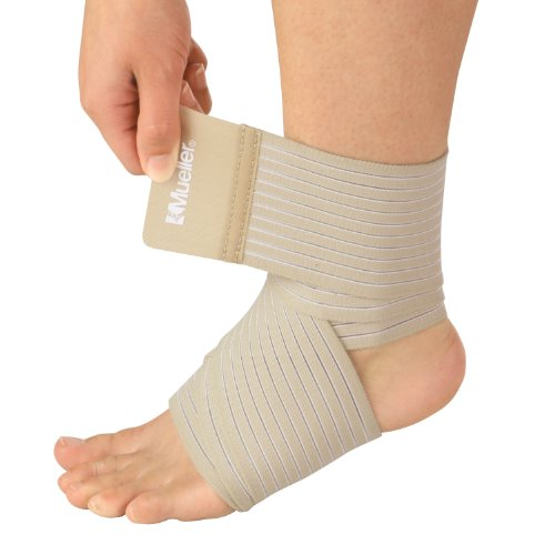 (Mueller Sport Care Mueller Sport Care Support Wrap All-Purpose, Beige, Small - 3 Inches by 2.3 Feet)