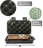 Jamestown Cigar Trail Ridge Plastic Travel Humidor