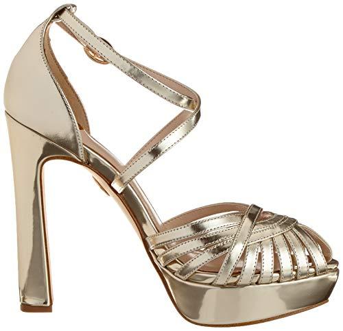 Sandalia Leather Gold para Buffalo 00 Patent Mujer Dorado con Pulsera Marigold 01 q1fSzt