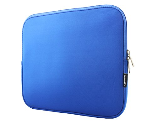 E14 Envelope Case - Emartbuy Royal Blue Water Resistant Neoprene Soft Zip Case Cover Sleeve 13-14 Inch Suitable for Selected Devices Listed Below