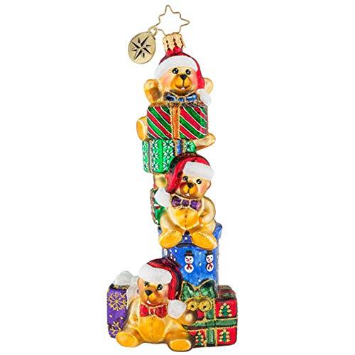 - Christopher Radko Teddy Bear Dare Christmas Ornament
