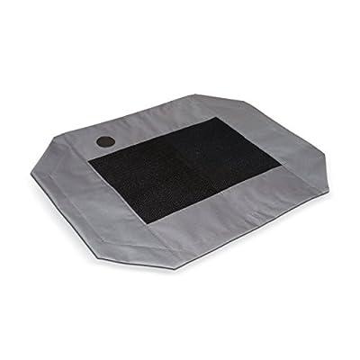"""K&H Manufacturing Original Pet Cot Cover Large Gray/Mesh 30"""" x 42"""""""