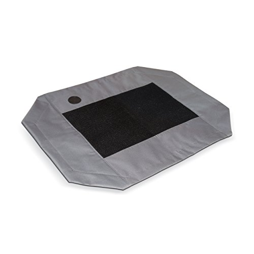 K&H Pet Products Original Pet Cot Replacement Cover Large Gray/Mesh