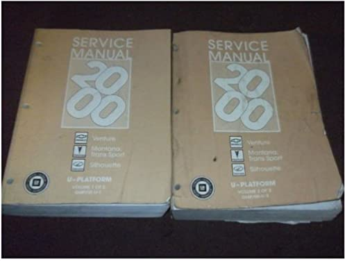 service manual venture 2000 basic instruction manual u2022 rh ryanshtuff co 2000 chevy venture repair manual 2003 Chevy Venture Engine Diagram