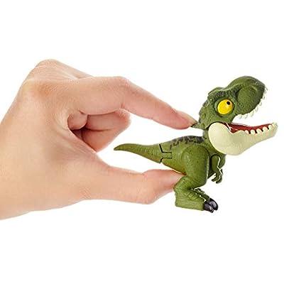 Jurassic World Snap Squad Green Tyrannosaurus Rex Figure: Toys & Games